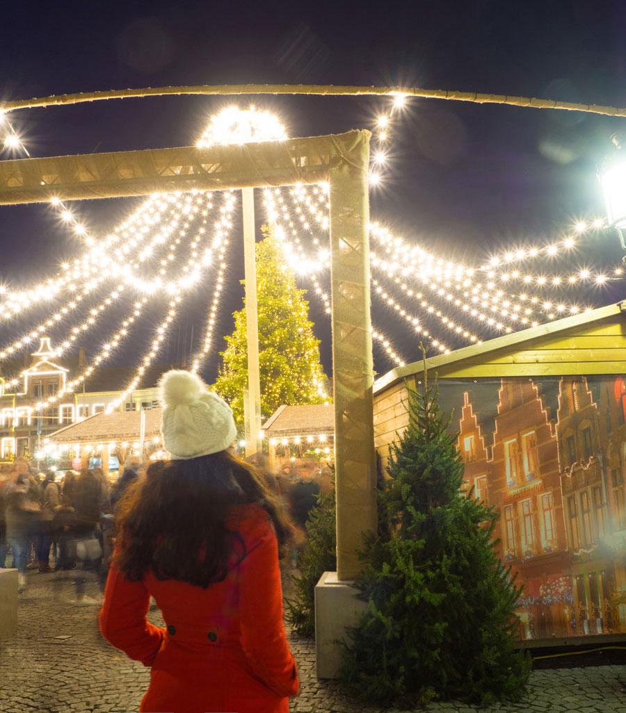 bruegge flandern belgien weihnachtszeit 17 - Brügge zur Adventszeit - Weihnachtsmarkt und Weihnachtslichter