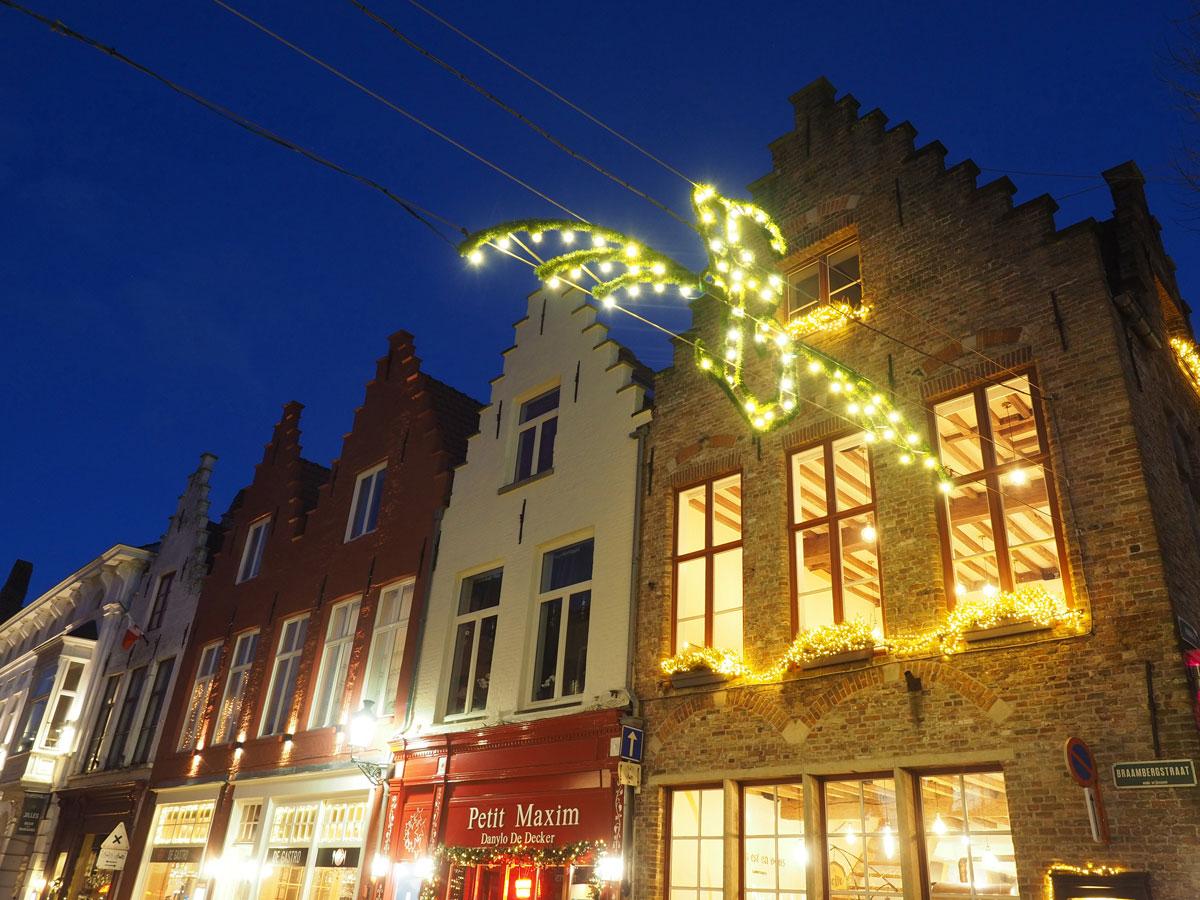 bruegge flandern belgien weihnachtszeit 3 - Brügge zur Adventszeit - Weihnachtsmarkt und Weihnachtslichter