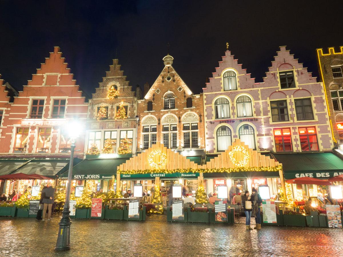 bruegge flandern belgien weihnachtszeit 5 - Brügge zur Adventszeit - Weihnachtsmarkt und Weihnachtslichter