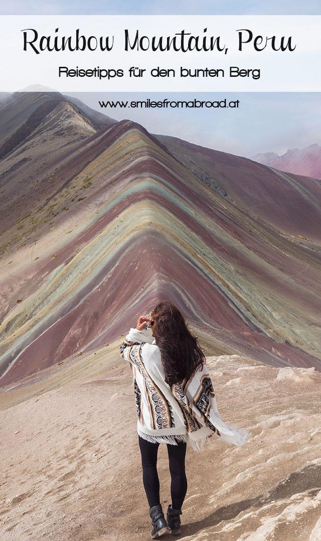 pinterest rainbowmountain2 - Rainbow Mountain in Peru - Reisetipp für Vinicunca