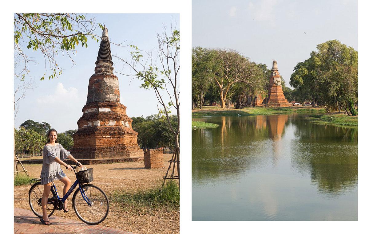 ayutthaya radfahren - 9 Orte die man in Ayutthaya, Thailand unbedingt gesehen haben muss