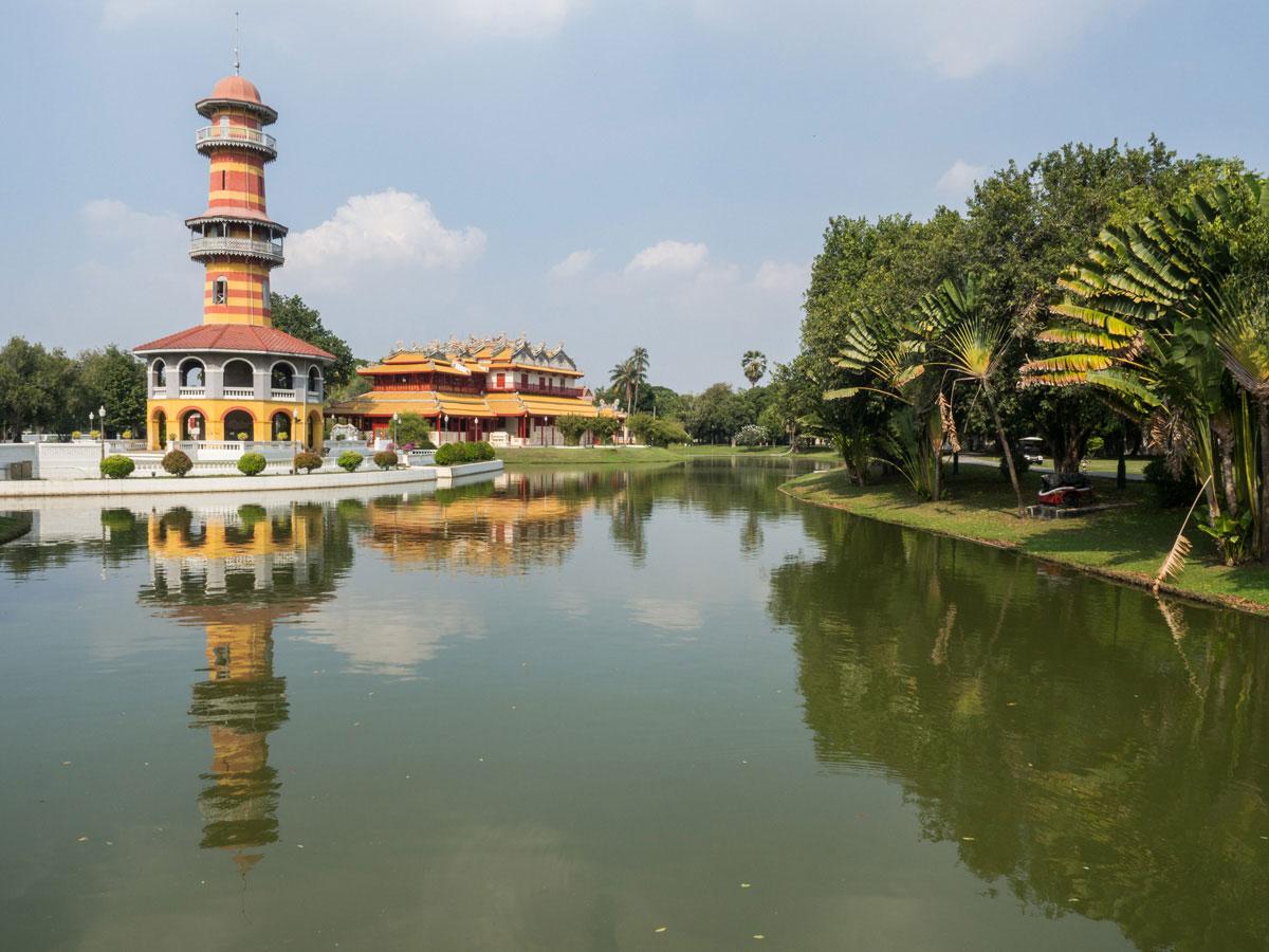 bang pa in sommerpalast thailand 1 - 9 Orte die man in Ayutthaya, Thailand unbedingt gesehen haben muss
