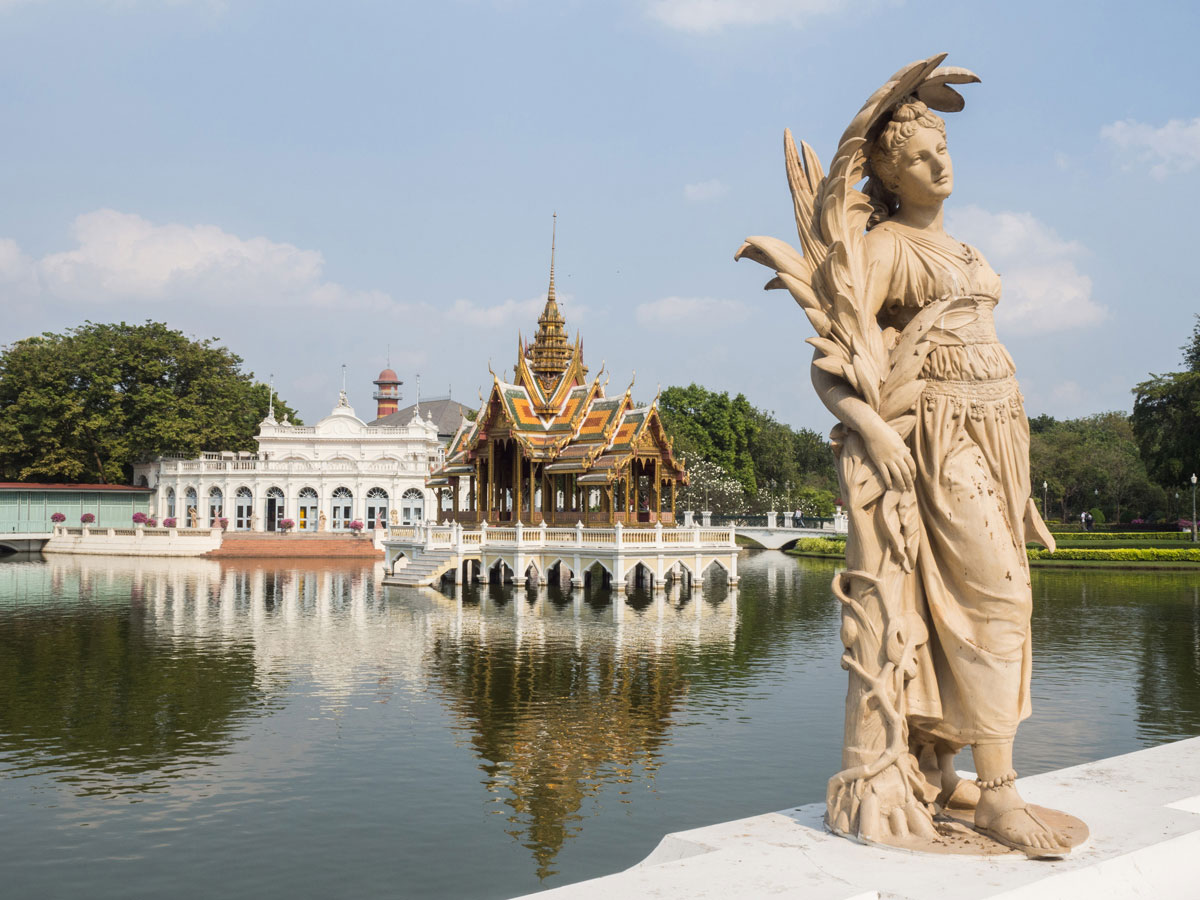 bang pa in sommerpalast thailand 2 - 9 Orte die man in Ayutthaya, Thailand unbedingt gesehen haben muss