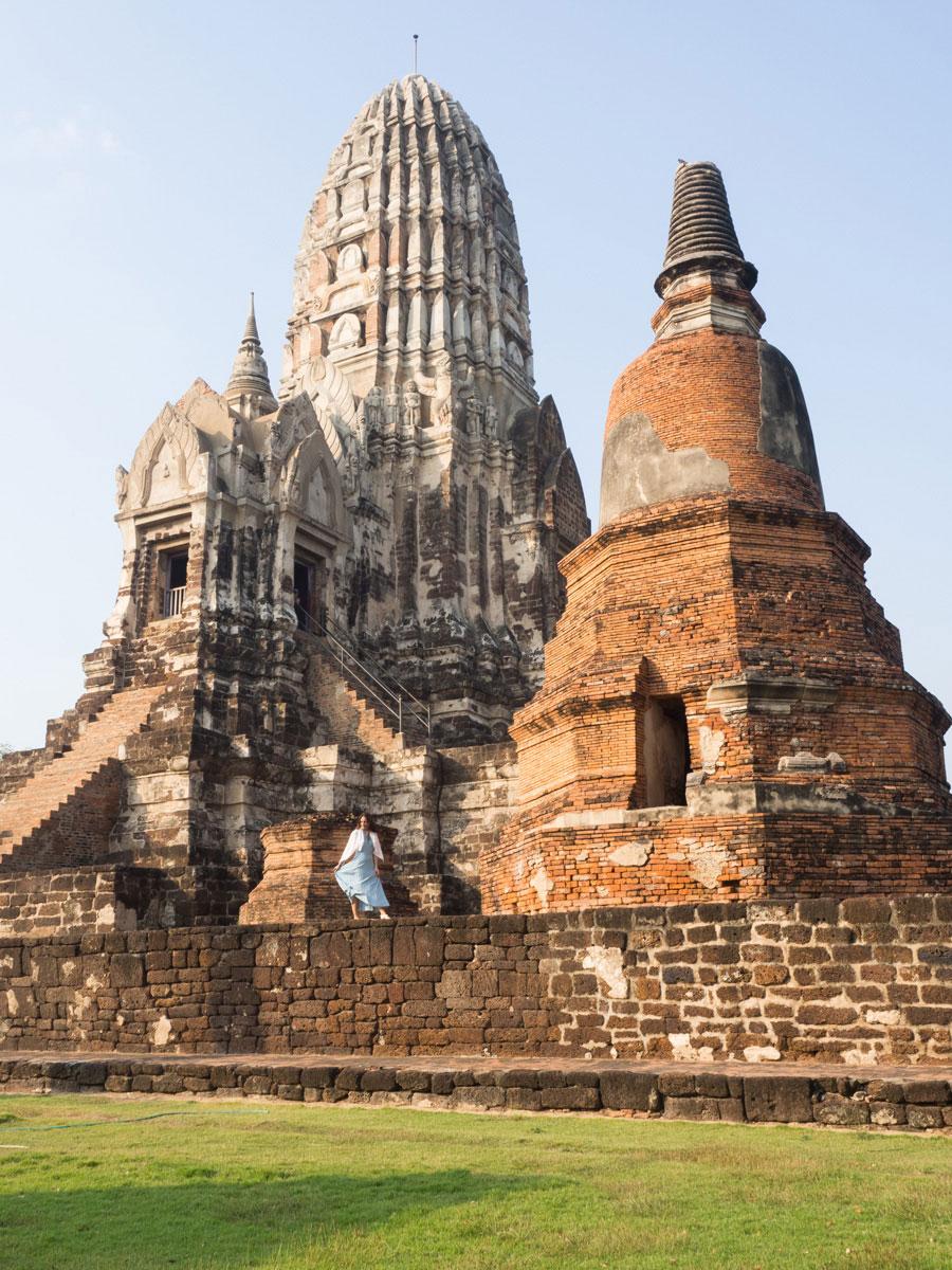 wat mahathat ayutthaya thailand 2 - 9 Orte die man in Ayutthaya, Thailand unbedingt gesehen haben muss
