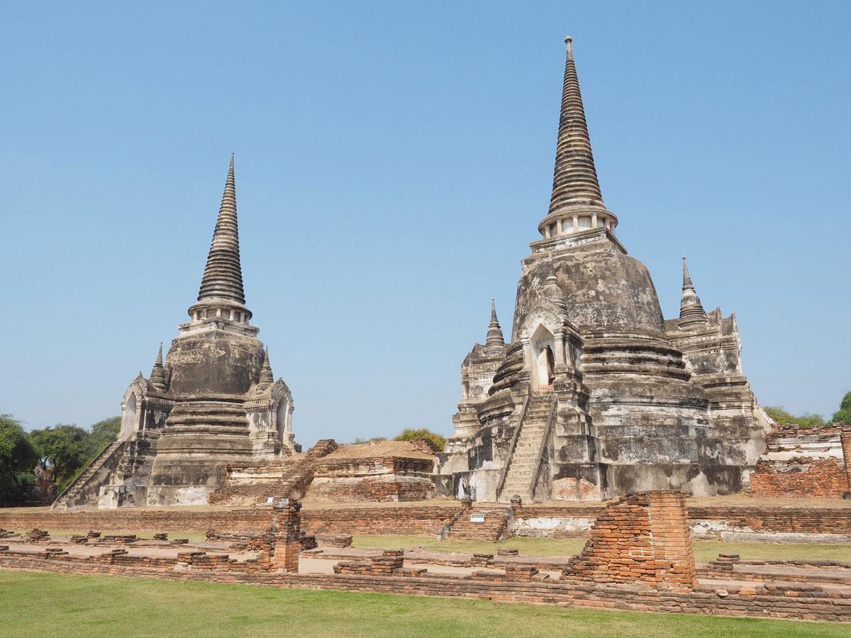 wat phra sin san phet ayutthaya reisetipps - 9 Orte die man in Ayutthaya, Thailand unbedingt gesehen haben muss