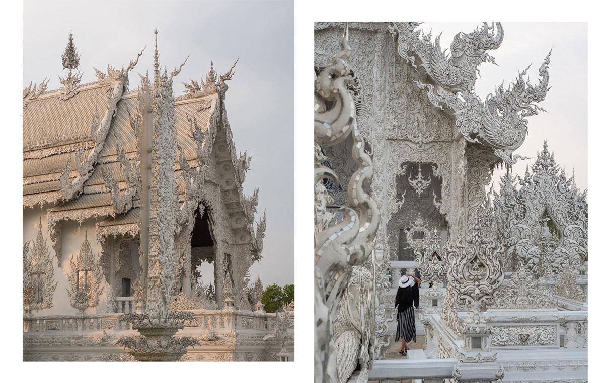 white temple chiang rai - Reiseguide Chiang Rai - weißer Tempel, blauer Tempel und Big Buddha