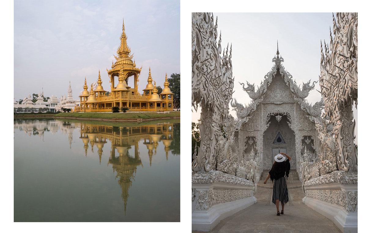 white temple chiang rai2 - Reiseguide Chiang Rai - weißer Tempel, blauer Tempel und Big Buddha