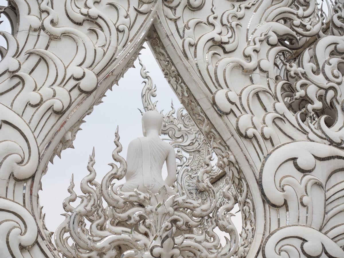 white temple chiang rai3 3 - Reiseguide Chiang Rai - weißer Tempel, blauer Tempel und Big Buddha