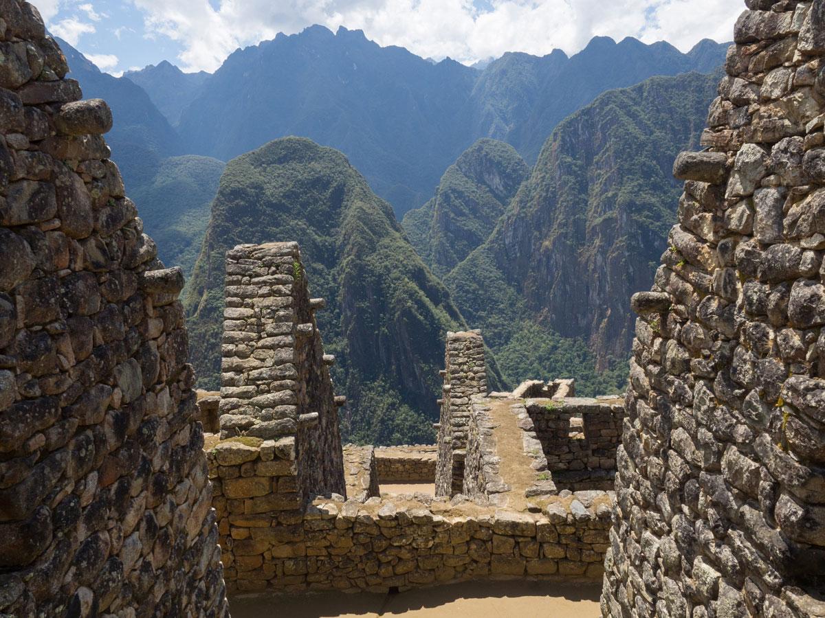 Machu Picchu Inkastätte Peru