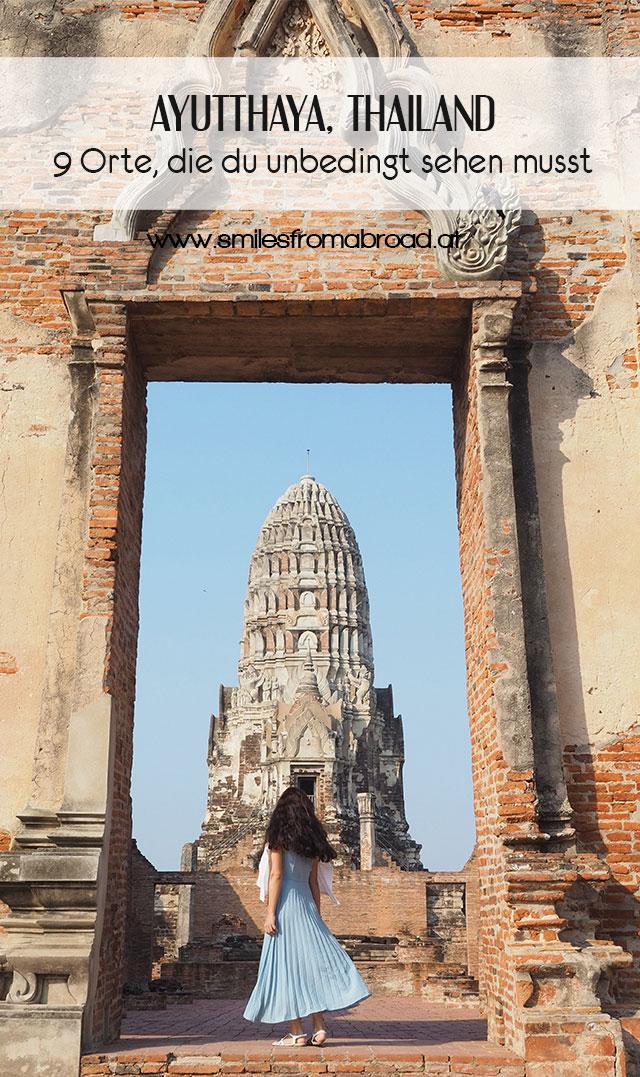 pinterest ayutthaya2 - 9 Orte die man in Ayutthaya, Thailand unbedingt gesehen haben muss