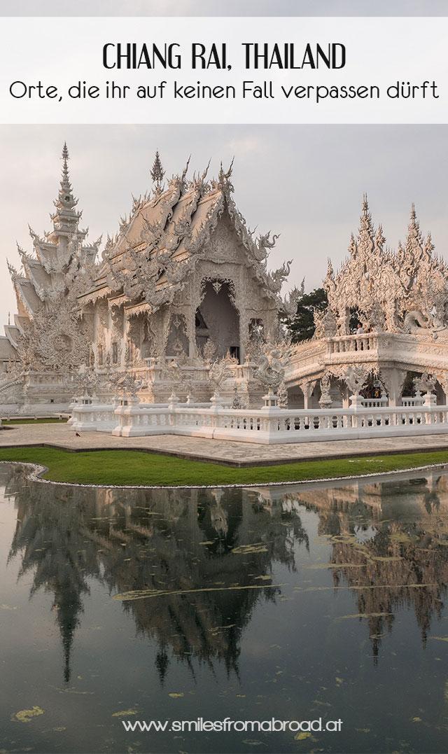 pinterest chiangrai - Reiseguide Chiang Rai - weißer Tempel, blauer Tempel und Big Buddha