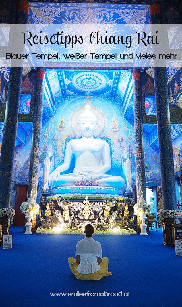 pinterest chiangrai2 - Reiseguide Chiang Rai - weißer Tempel, blauer Tempel und Big Buddha