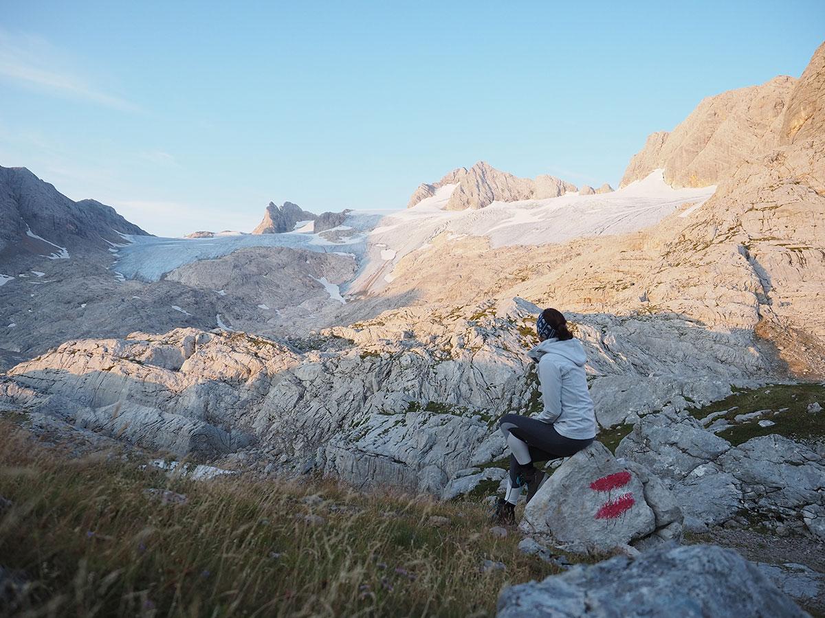 Simonyhütte Dachstein Gletscher Salzkammergut Oberösterreich