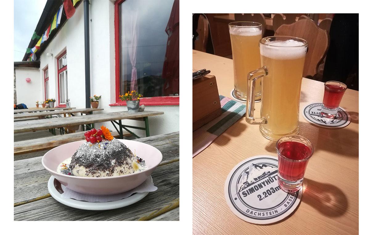 gjaidalm essen - Wanderung über die Simonyhütte zum hohen Gjaidstein mit Ausblick auf den Dachstein - Oberösterreich