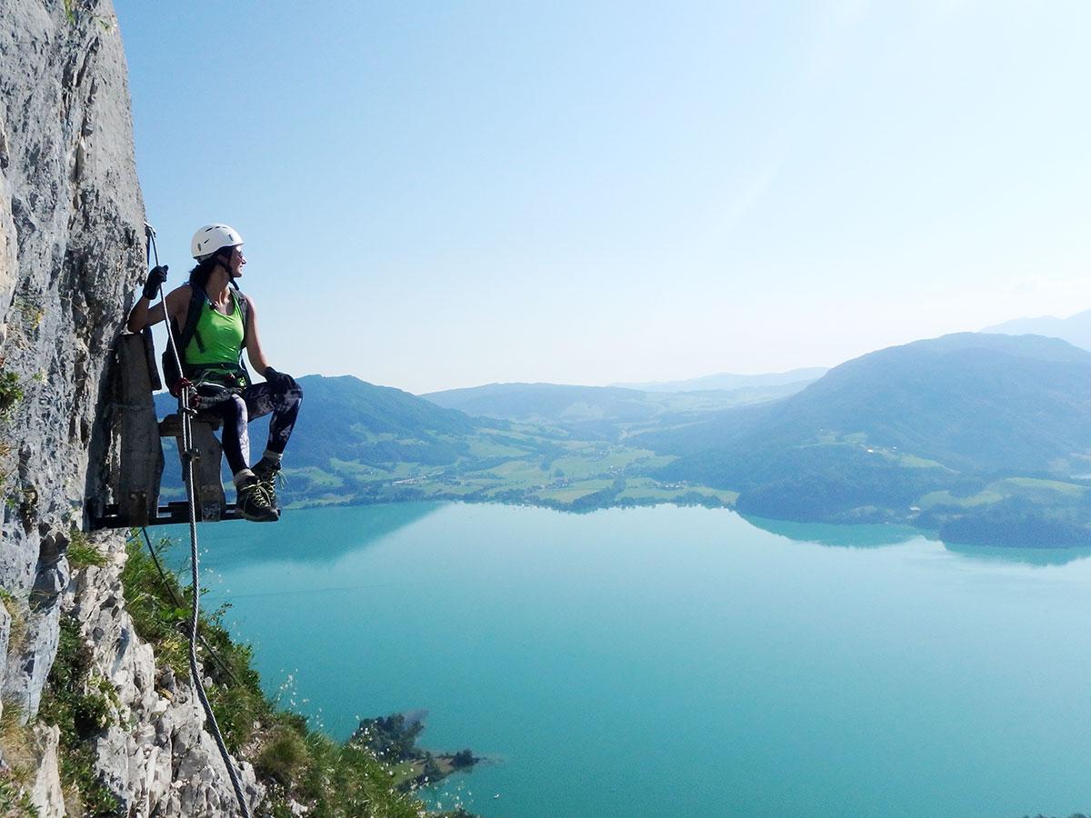 Drachenwand Klettersteig Oberösterreich