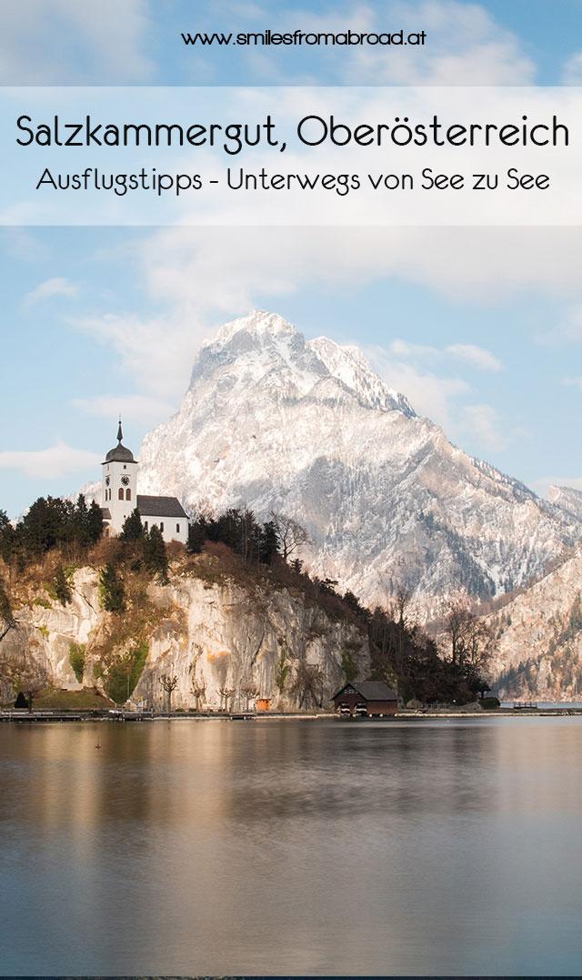 pinterest salzkammergut reisetipps2 - Von See zu See unterwegs im Salzkammergut in Oberösterreich & Salzburg