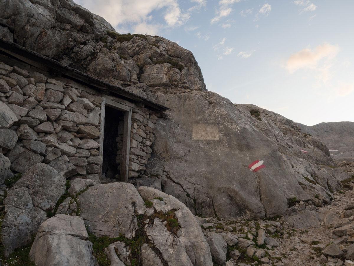 Wanderweg zur Simonyhütte