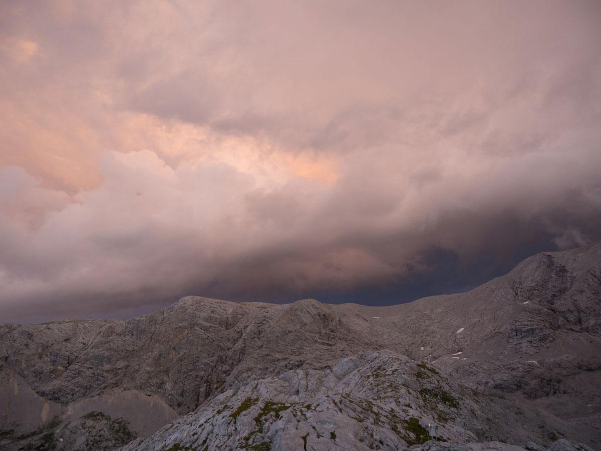 wandern simonyhuette gjaidstein dachstein 17 - Wanderung über die Simonyhütte zum hohen Gjaidstein mit Ausblick auf den Dachstein - Oberösterreich