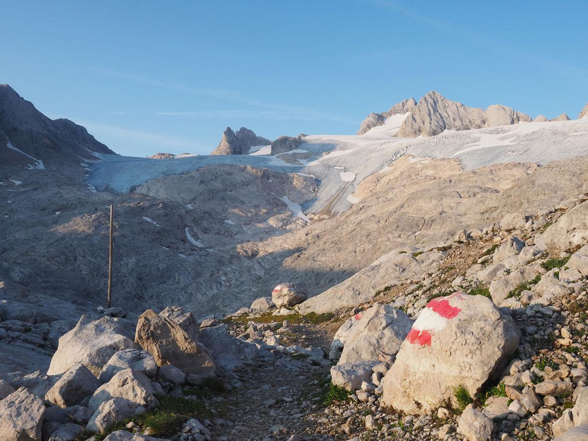 Wanderung zum Gjaidstein von der Simonyhütte