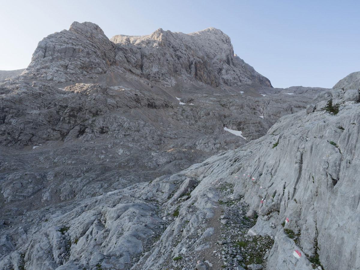wandern simonyhuette gjaidstein dachstein 32 - Wanderung über die Simonyhütte zum hohen Gjaidstein mit Ausblick auf den Dachstein - Oberösterreich