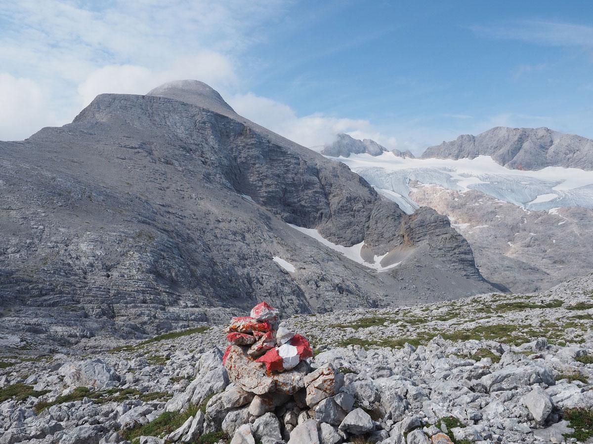 wandern simonyhuette gjaidstein dachstein 36 - Wanderung über die Simonyhütte zum hohen Gjaidstein mit Ausblick auf den Dachstein - Oberösterreich