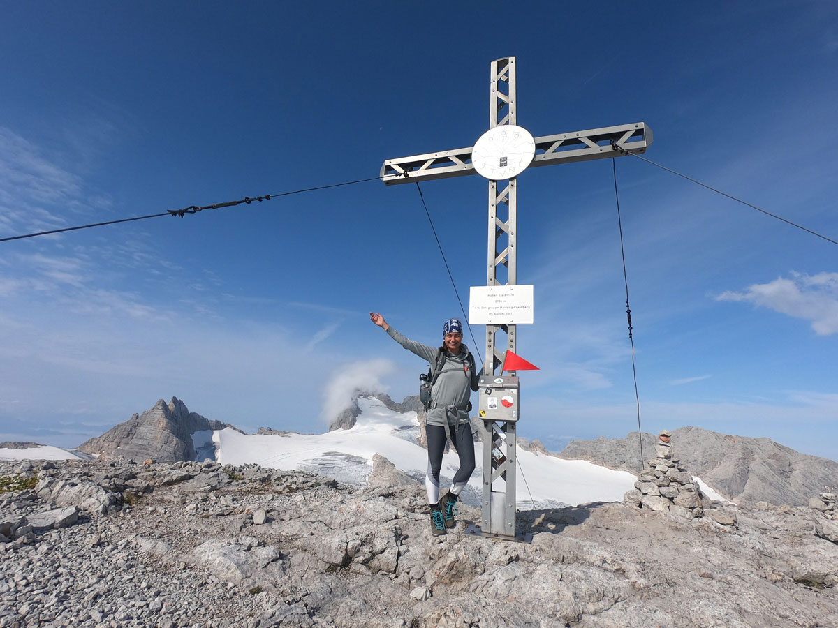 Gjaidstein Gipfel Gipfelkreuz