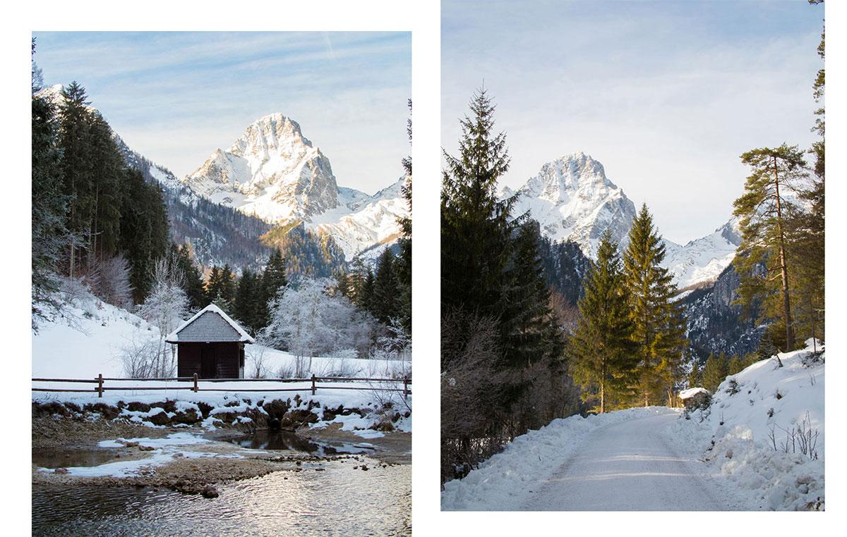 Schiederweiher Hinterstoder Oberösterreich Winter