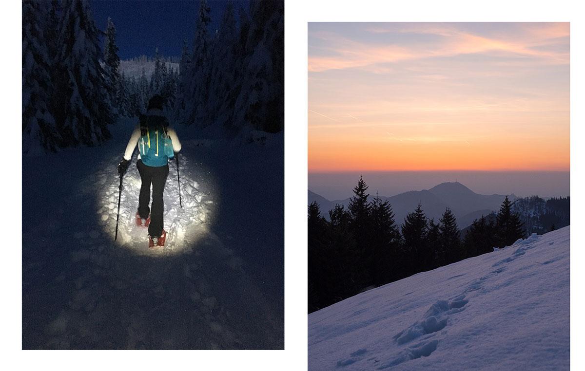 Sonnenaufgang Wandern Tipps Rucksack