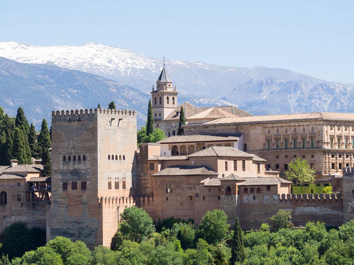 """Aussichtspunkt Alhambra Sierra Nevada """""""