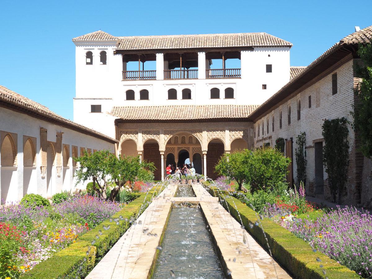 Generalife Alhambra Granada Andalusien