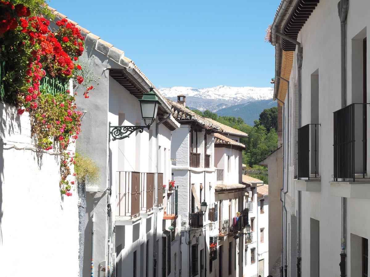 Granada Andalusien Albaicin