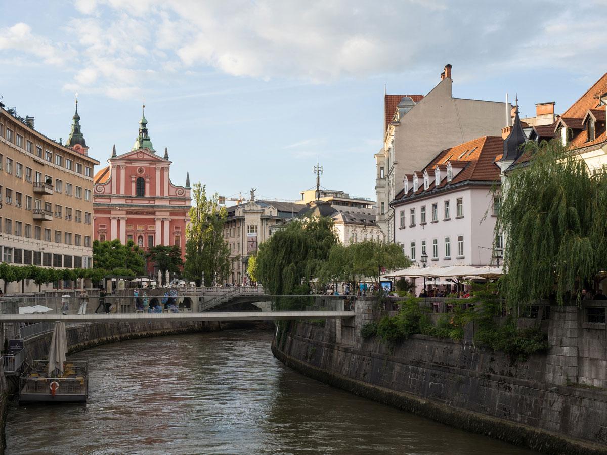 Ljubljana Fluss Sehenswertes