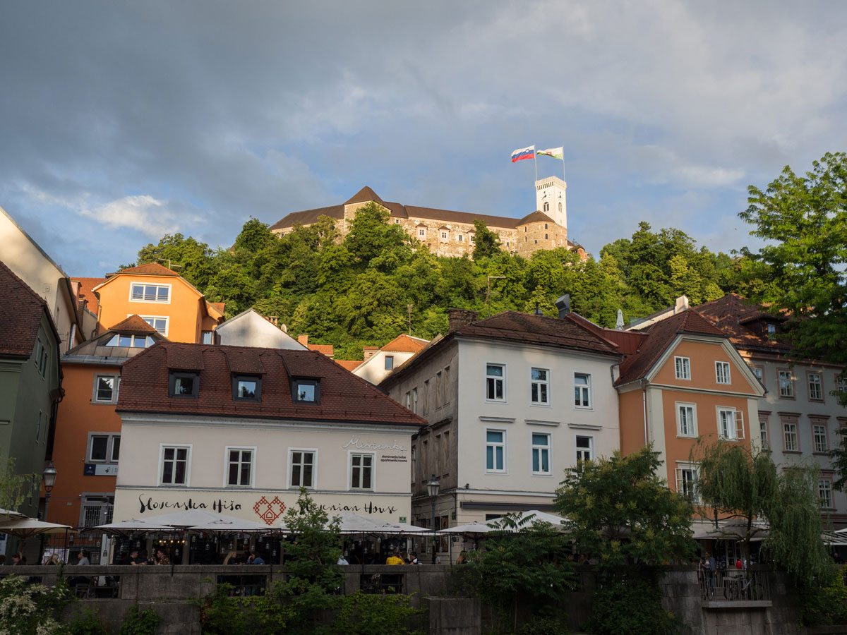 Ljubljana Slowenien Fluss