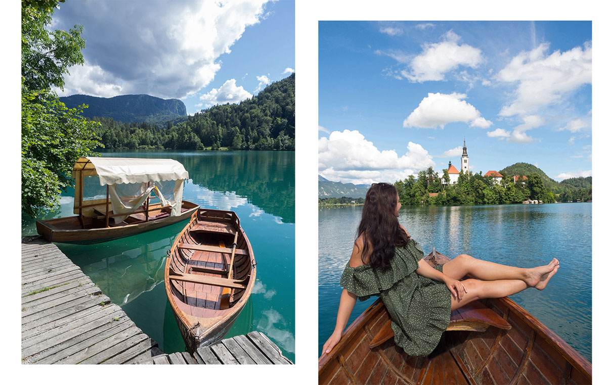 Slowenien Lake Bled Paddeln