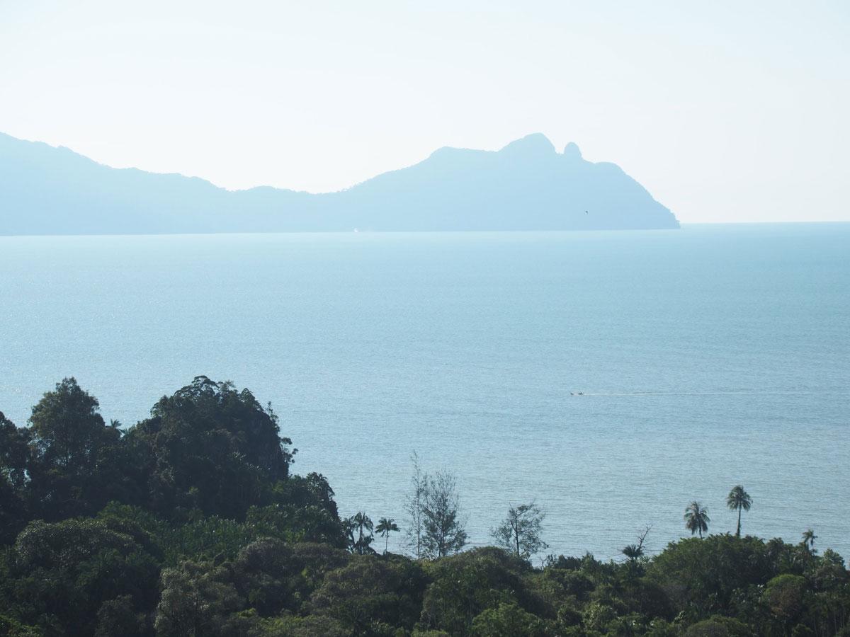 Bako Nationalpark Wanderung Ausblick