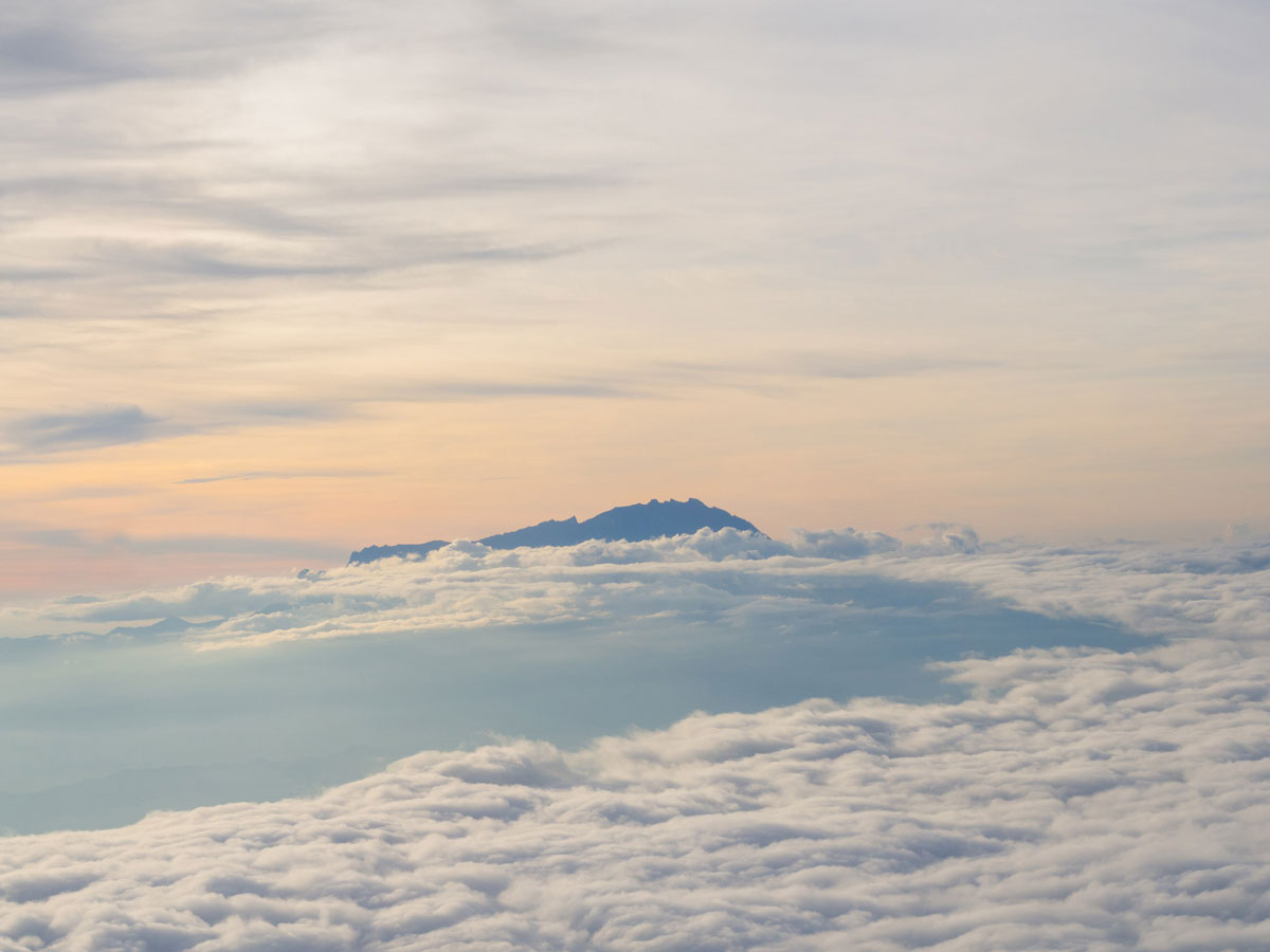 Borneo Mount Kinabalu, Sehenswürdigkeiten Borneo