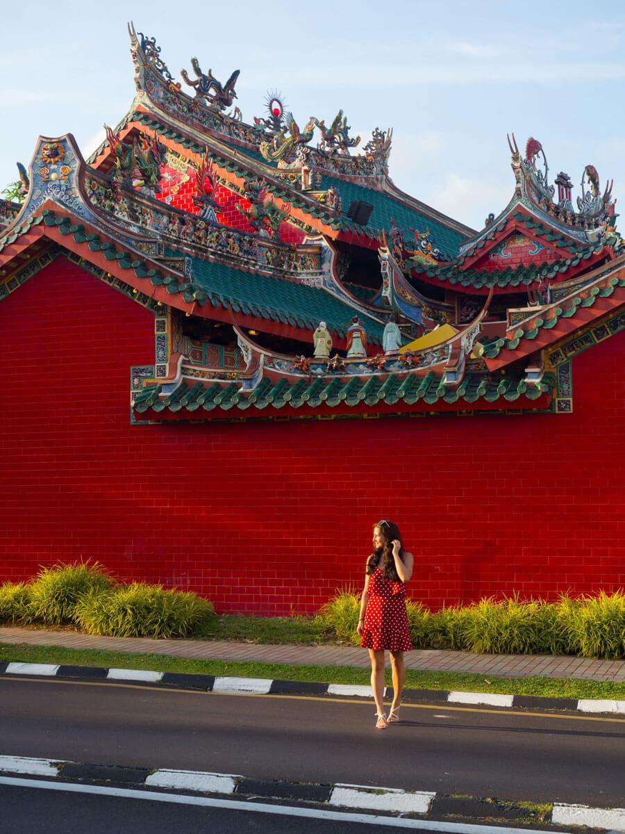 Kuching Borneo Chinesischer Tempel