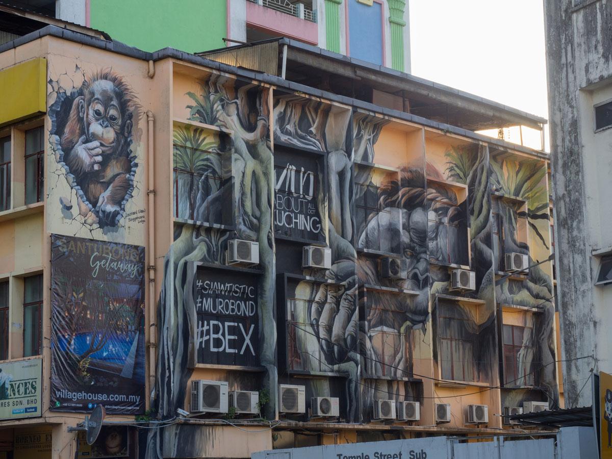 Kuching Borneo Street Art