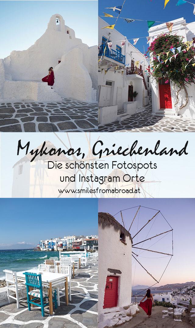 Mykonos Fotospots Instagram Orte