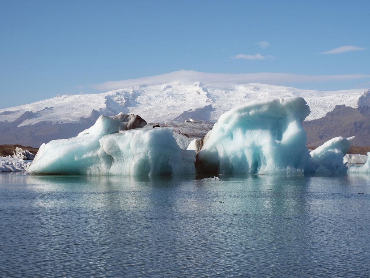 """"""" Island Gletscherlagune Eis"""
