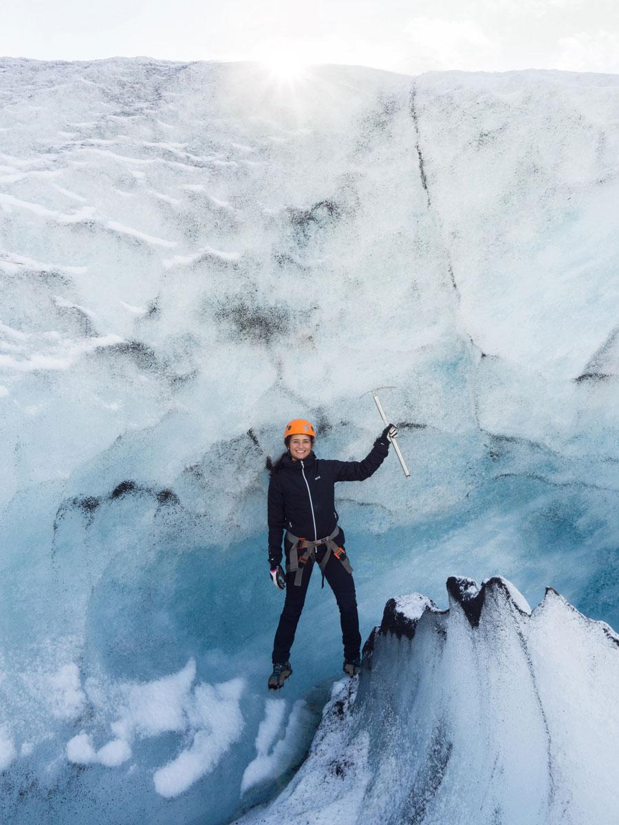 """"""" Island Gletscherwanderung"""