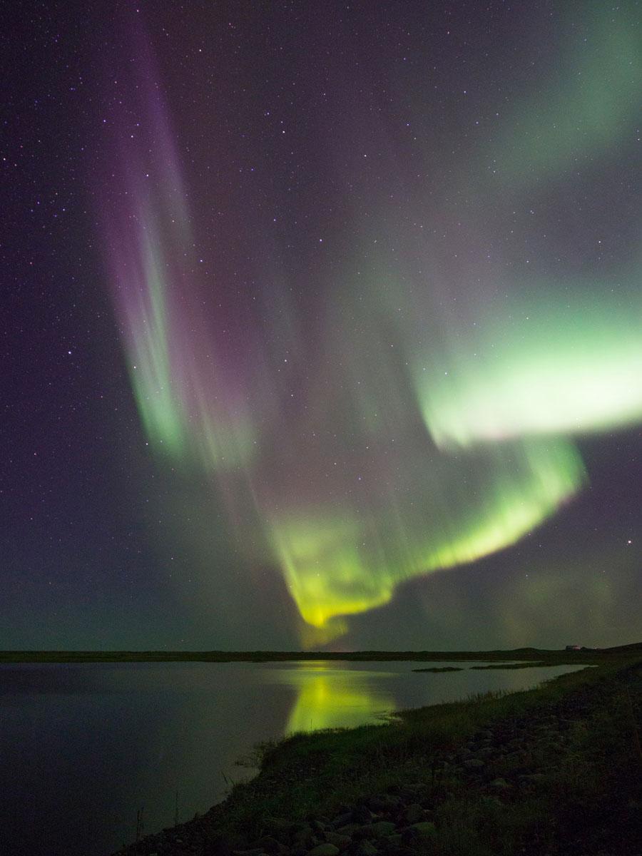 """Nordlichter Island ("""")"""