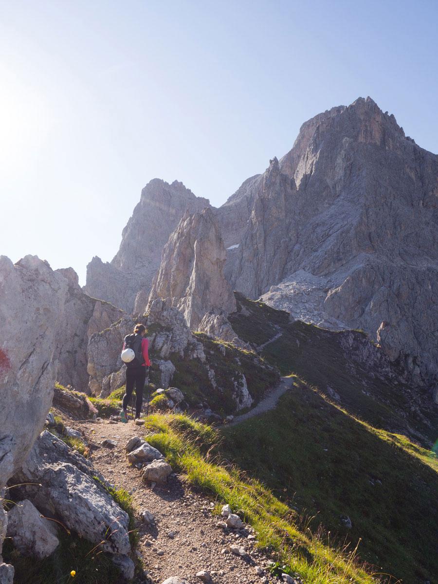 Klettersteig Rotwand Alpinisteig Sexten