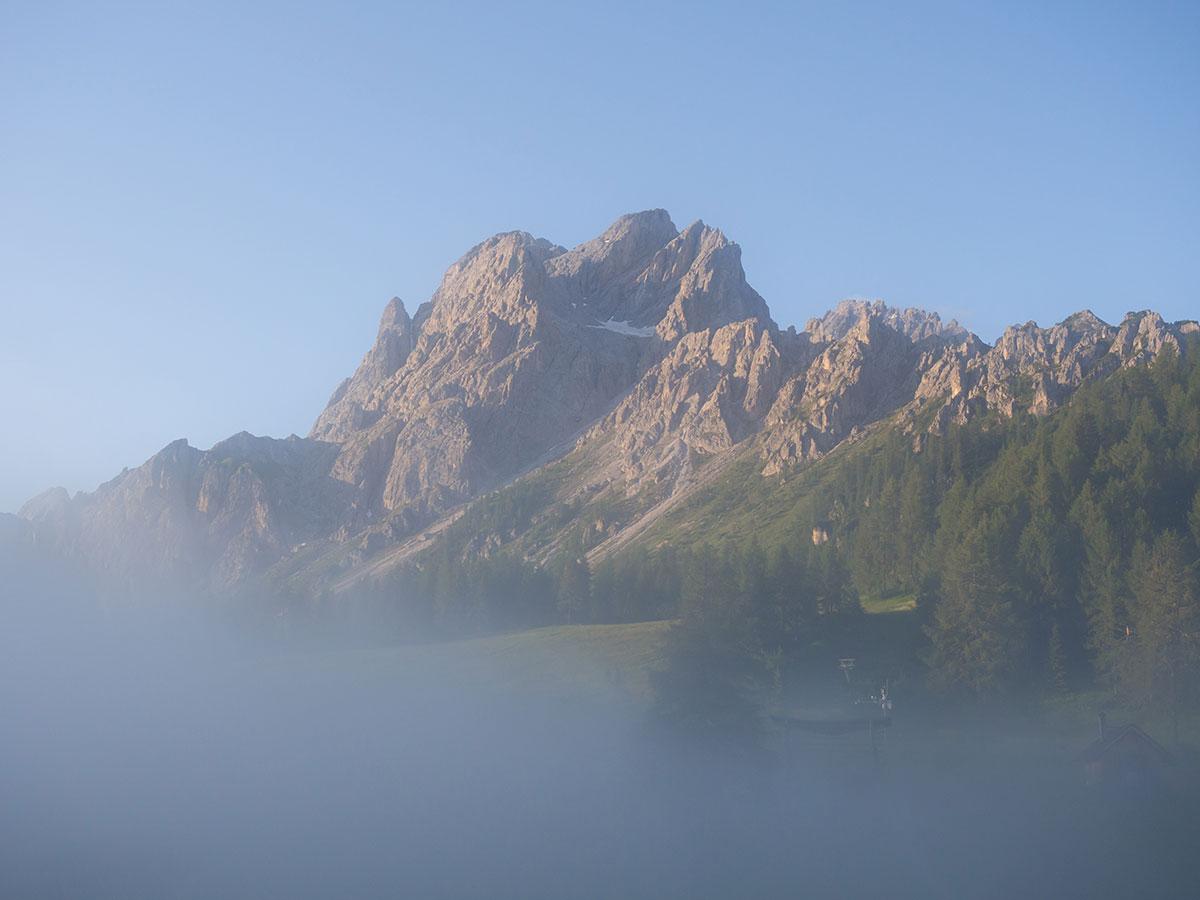 Rotwandwiesenhütte Sonnenaufgang