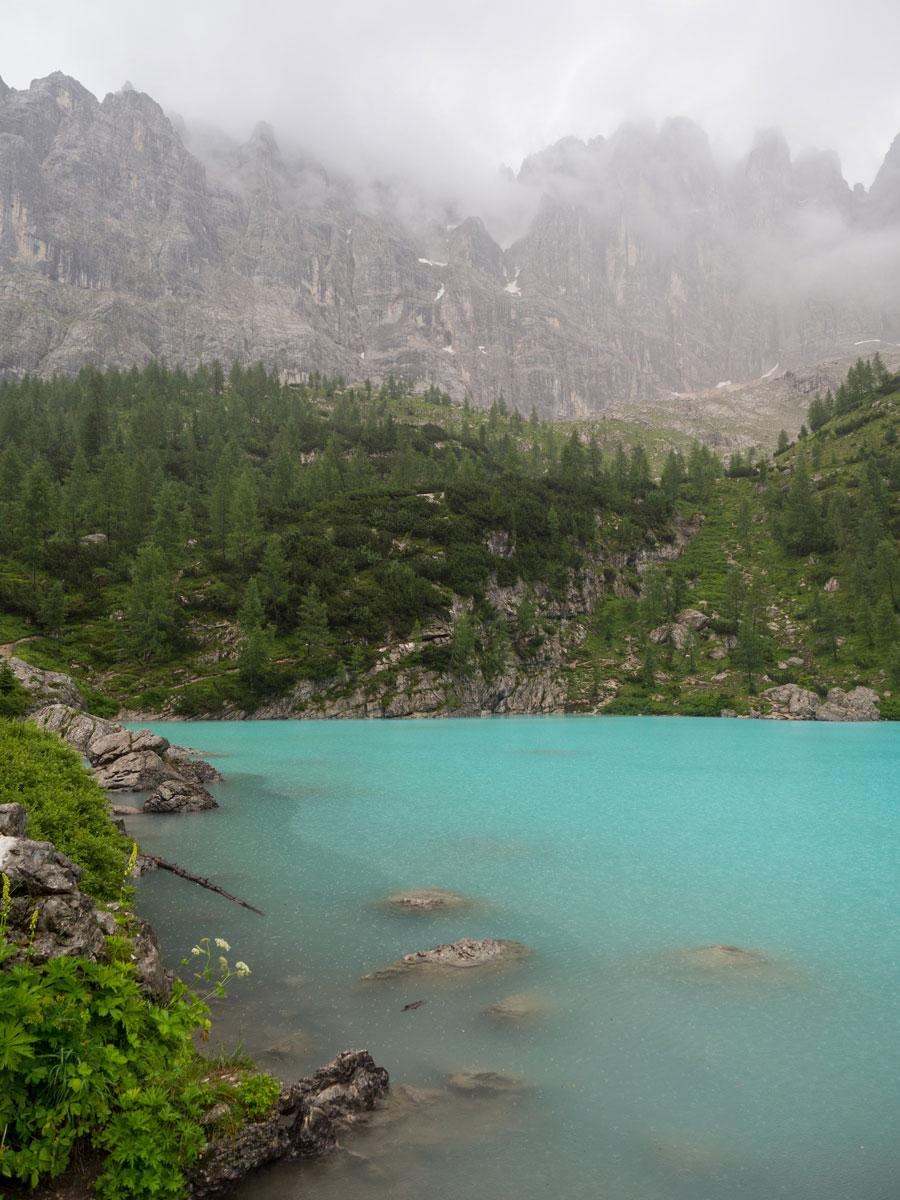 """Sorapis See Dolomiten Italien Wandern ("""")"""