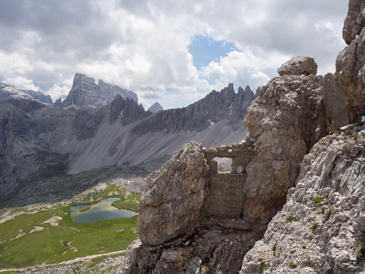 "Toblinger Knoten Klettersteig Dolomiten Suedtirol ("")"