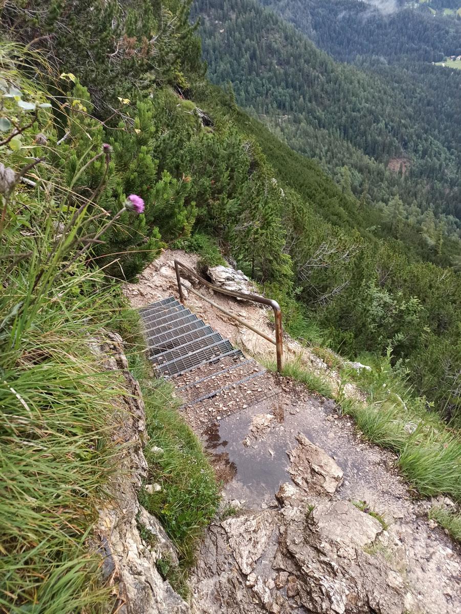 """Wanderweg Sorapis See Ausgesetzt ("""")"""