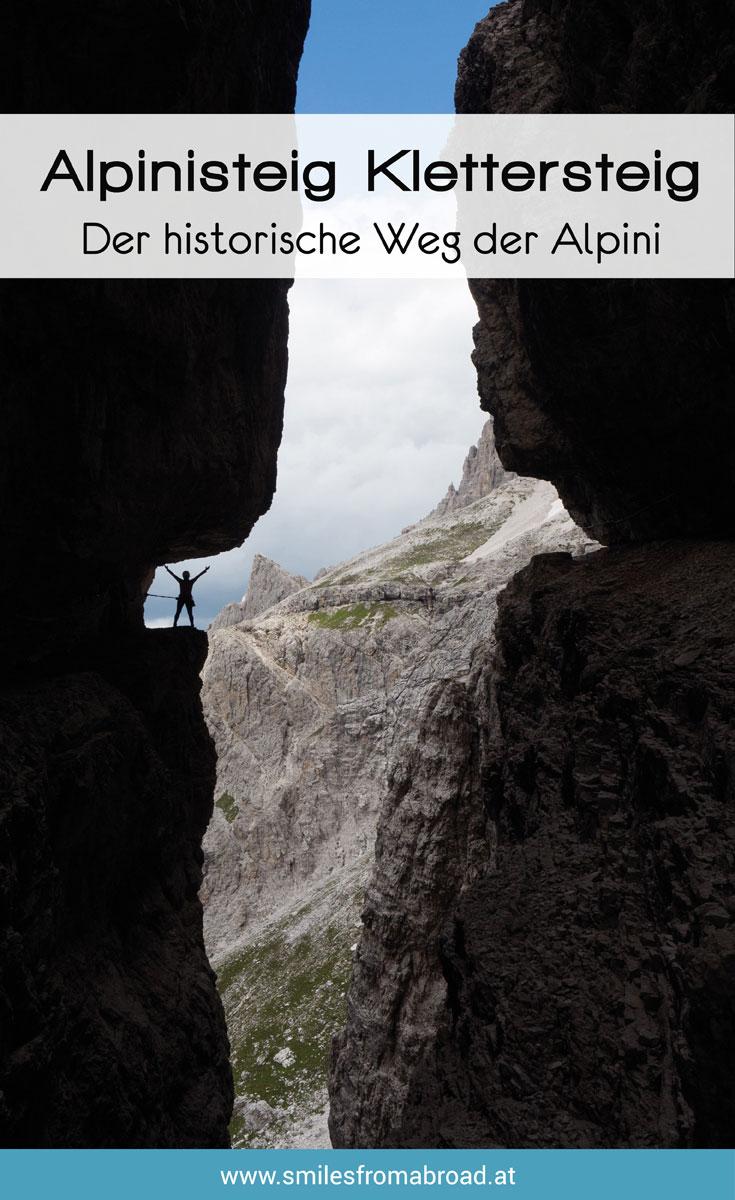 Alpinisteig Dolomiten Klettersteig Tipps