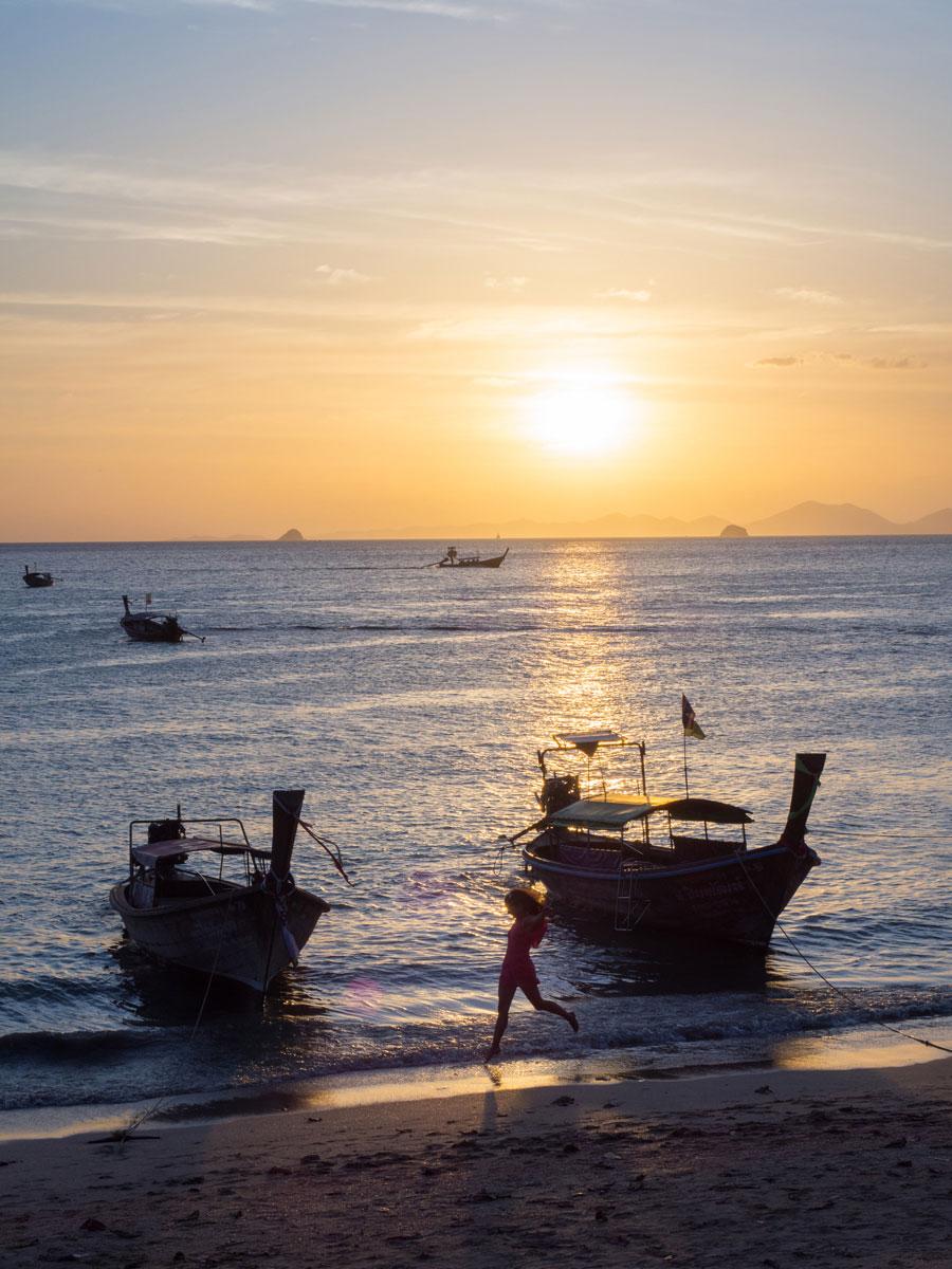 """Krabi Sonnenuntergang Ao Nang Strand ("""")"""