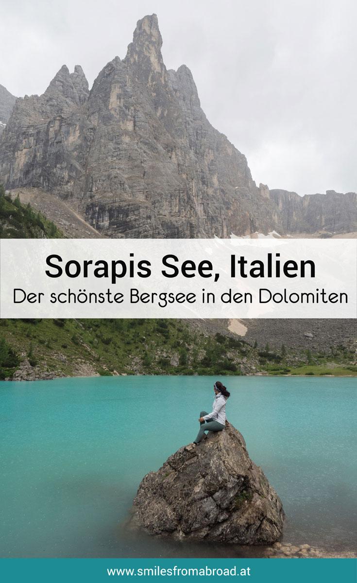 Sorapis See Dolomiten Italien Tipps